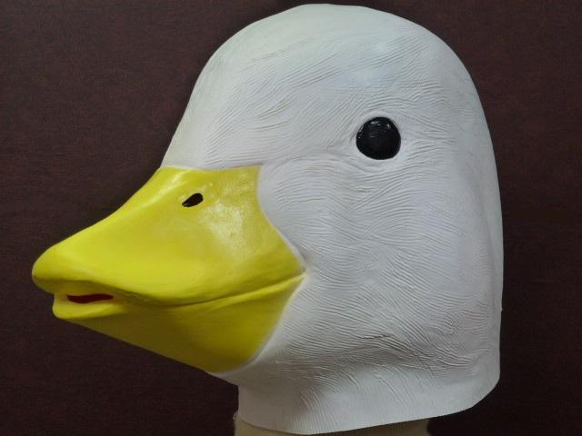アヒルのかぶりもの、アヒルちゃんマスク