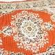 トルコ 絨毯柄ショルダーポーチ NP-FL011 レッド