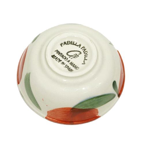 スペイン陶器 SP-22APH 小鉢ボウル/赤いポピー
