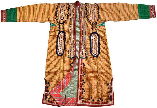 民族衣装 EC-018 トルクメン族 クルテ/チュルプィ(女性用コート)