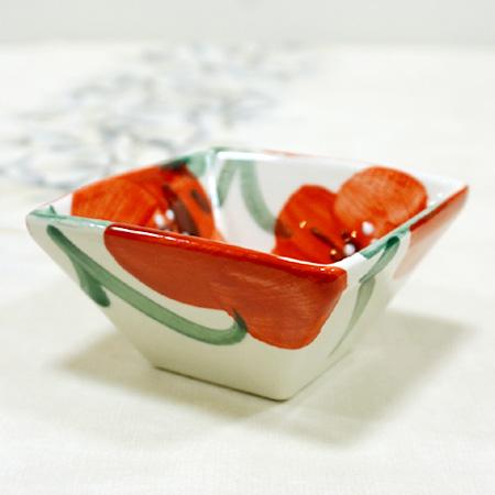 スペイン陶器 SP-4005APH 四角小鉢(小)