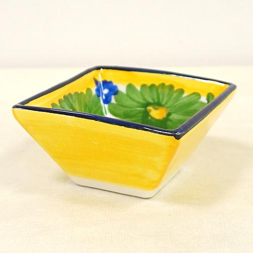 スペイン陶器 SP-4005N 四角小鉢(小)