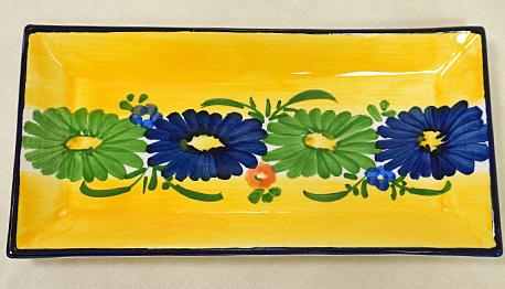 スペイン陶器 SP-6520N 長方形皿