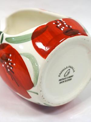スペイン陶器 トイレブラシスタンド SP-405APH