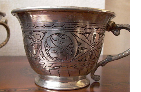 トルコ製 バクル(銅製品) CP-023 カップ