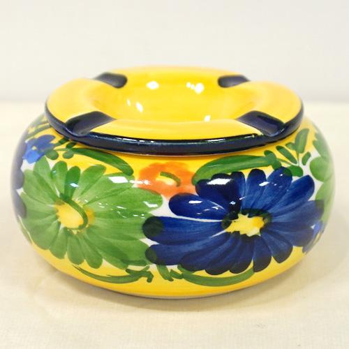 スペイン陶器 SP-5013N 水灰皿/青花 ハエン/JAEN