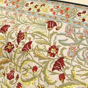 トルコ 絨毯柄ショルダーポーチ NP-FL004
