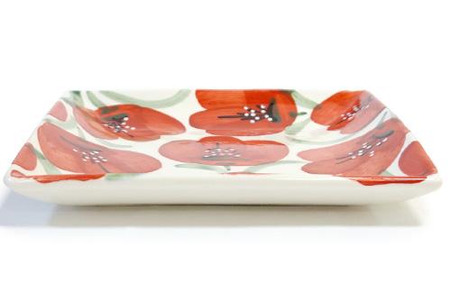 スペイン陶器 SP-6139APH 正方形皿