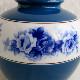 オールドノリタケ 花瓶 ブルーローズ 日本陶器