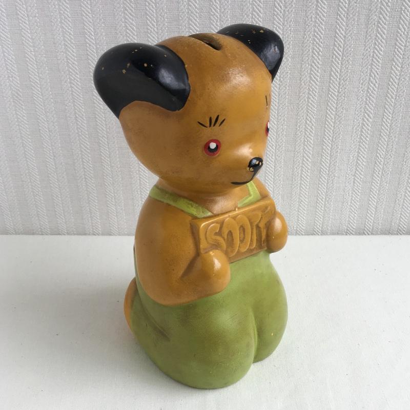 SOOTY スーティ 陶器の貯金箱