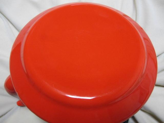 RP017 赤いホーローケトル 琺瑯やかん 1.7L