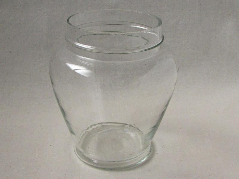 小さな菓子瓶 あめや瓶 レトロガラス
