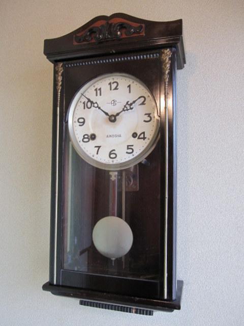 CW014 愛工舎 宮型柱時計