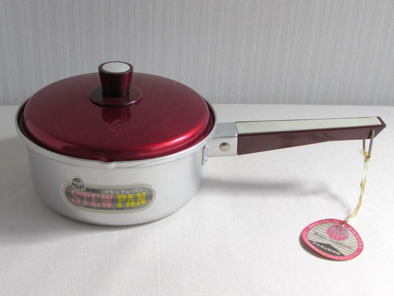 RP031 地球印 浅型シチューパン アルミ片手鍋 16cm