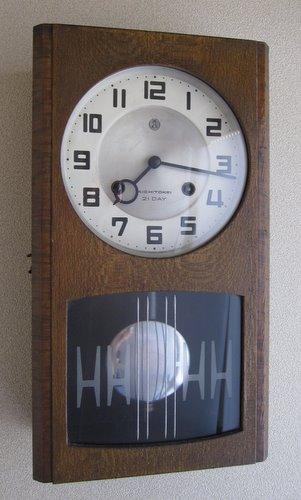 CW005 愛知時計 柱時計 21DAY