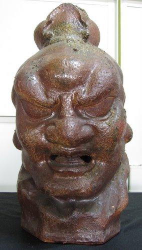 金剛力士 阿形像 (信楽焼?)