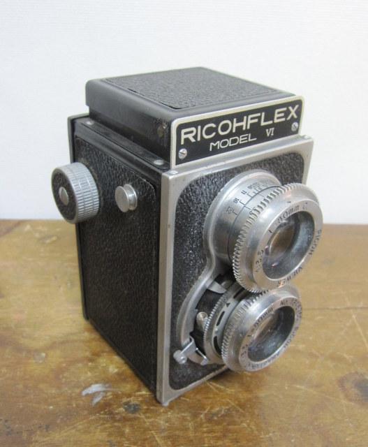 RICOH RICOHFLEX VI  リコーフレックスVI 二眼レフ