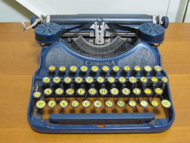 CORONA コロナ タイプライター