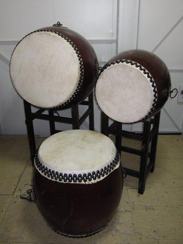 中古 和太鼓セット 練習用・お祭り・イベントなどに