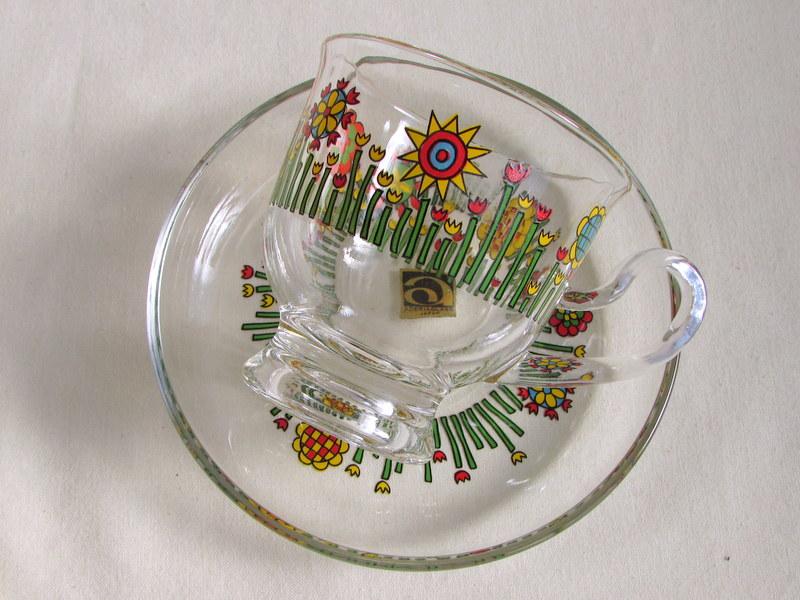 アデリア カップ&ソーサー 花柄 4