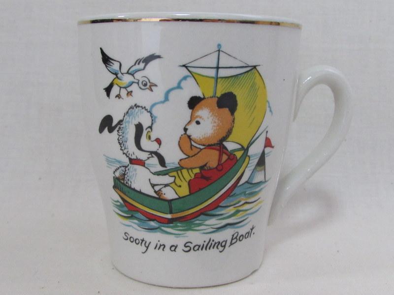 SOOTY スーティ マグカップ セーリングボート