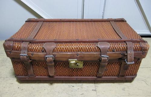 籐のトランク 旅行鞄 柳織 豊岡杞柳細工