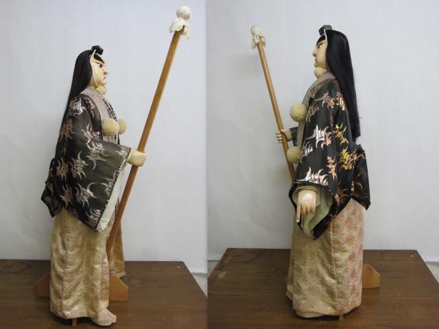 阿波木偶人形 辨慶 からくり人形