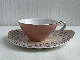東洋陶器 カップ&ソーサー 淡いピンク 2