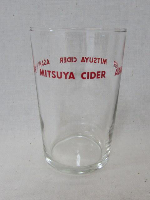 アサヒビール 三ツ矢サイダーのロゴ入りアデリアグラス6個セット 2