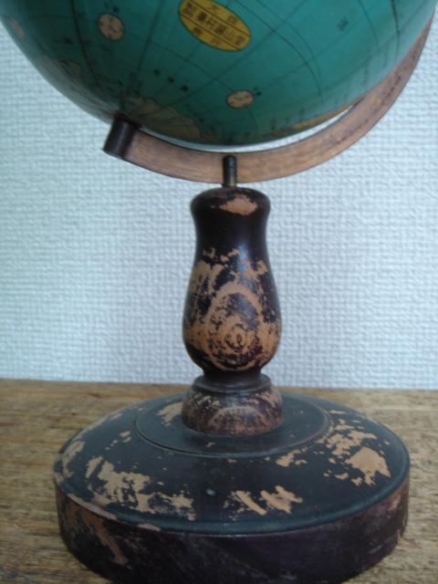 古い地球儀
