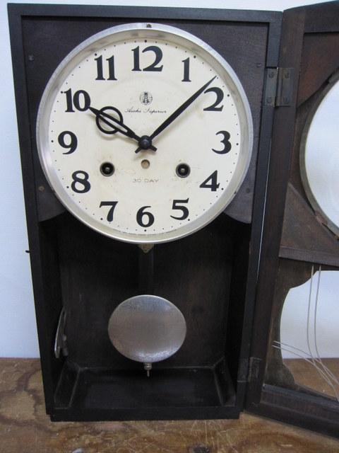 CW012 愛知時計 Aichi Superior 柱時計 30DAY