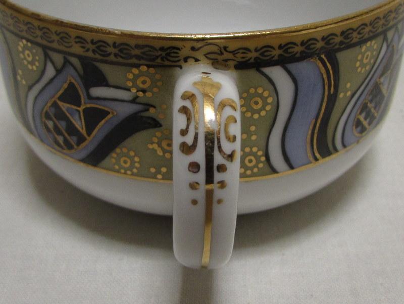 名古屋製陶所 レトロ カップ&ソーサー 名陶