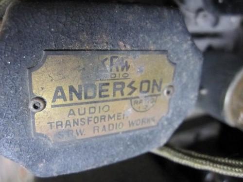 ER003 古い真空管ラジオ