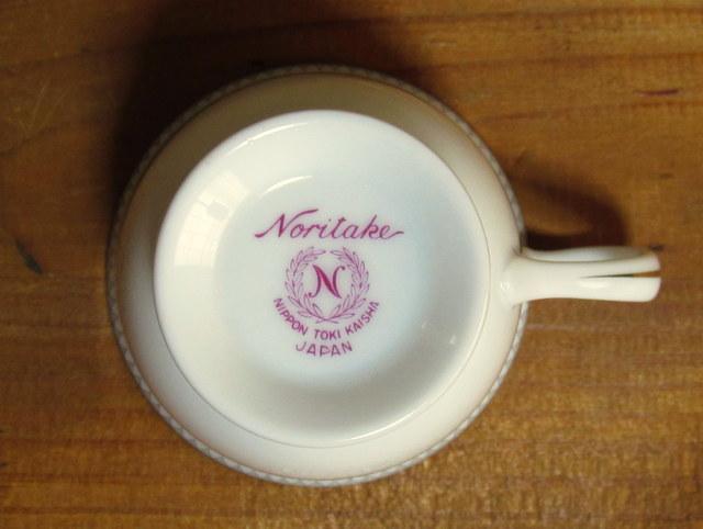 ノリタケ デミタスカップ&ソーサー NOBLE 2600