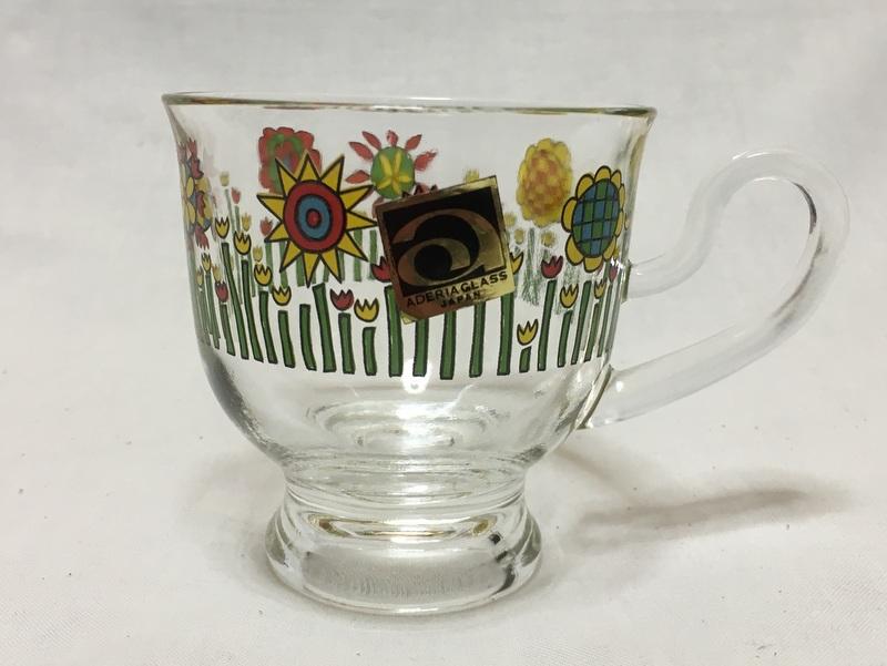 アデリア カップ&ソーサー 花柄