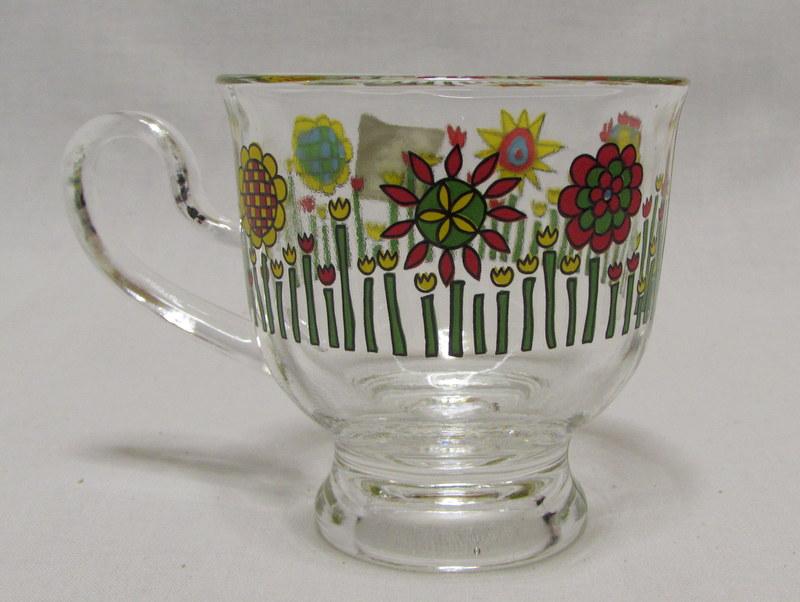 アデリア カップ&ソーサー 花柄 2