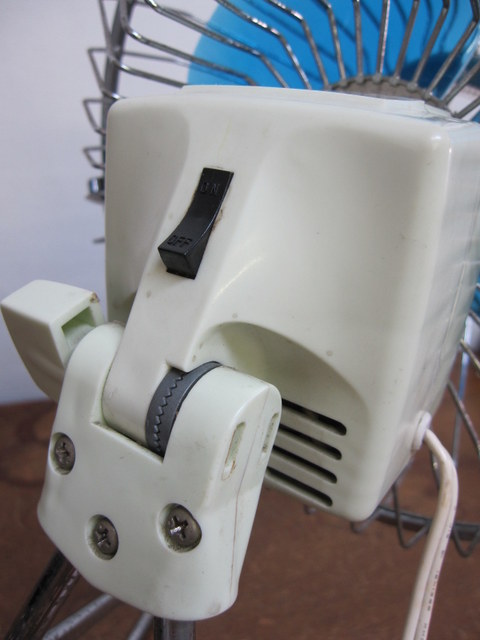 EF006 日栄電機産業 卓上扇 20cm
