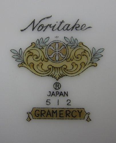 オールドノリタケ ディナープレート GRAMERCY 512