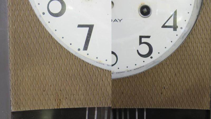 CW011 愛知時計 Super Eight 柱時計 30DAY