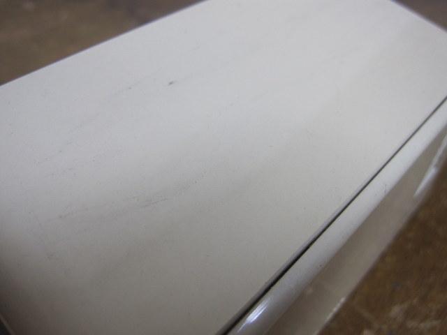 CR003 COPAL コパル パタパタ時計 白×赤