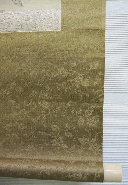 掛軸 竹渓 山水図 1