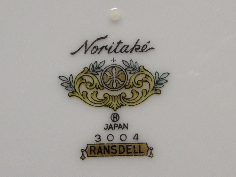 ノリタケ ディナープレート RANSDELL 3004