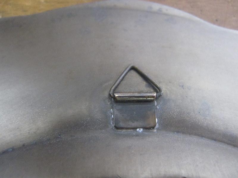 エタン(ピューター・錫)の古いプレート 26cm