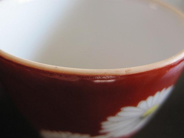 ノリタケ 赤菊 急須 湯呑み 茶器セット