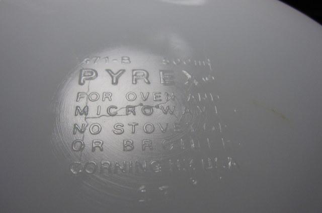 OLD PYREX オールドパイレックス シンデレラベイクサーブキャセロール S バタフライゴールド