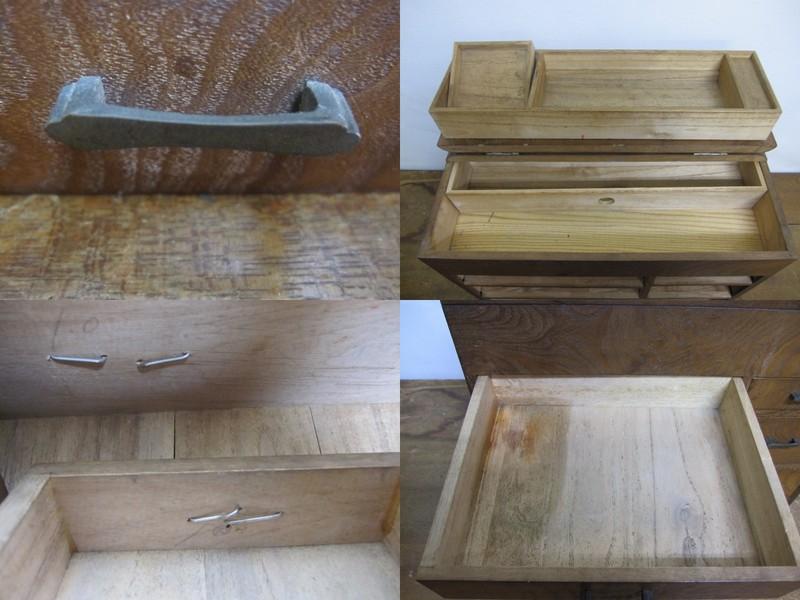FS019 古いお針箱 裁縫箱 02