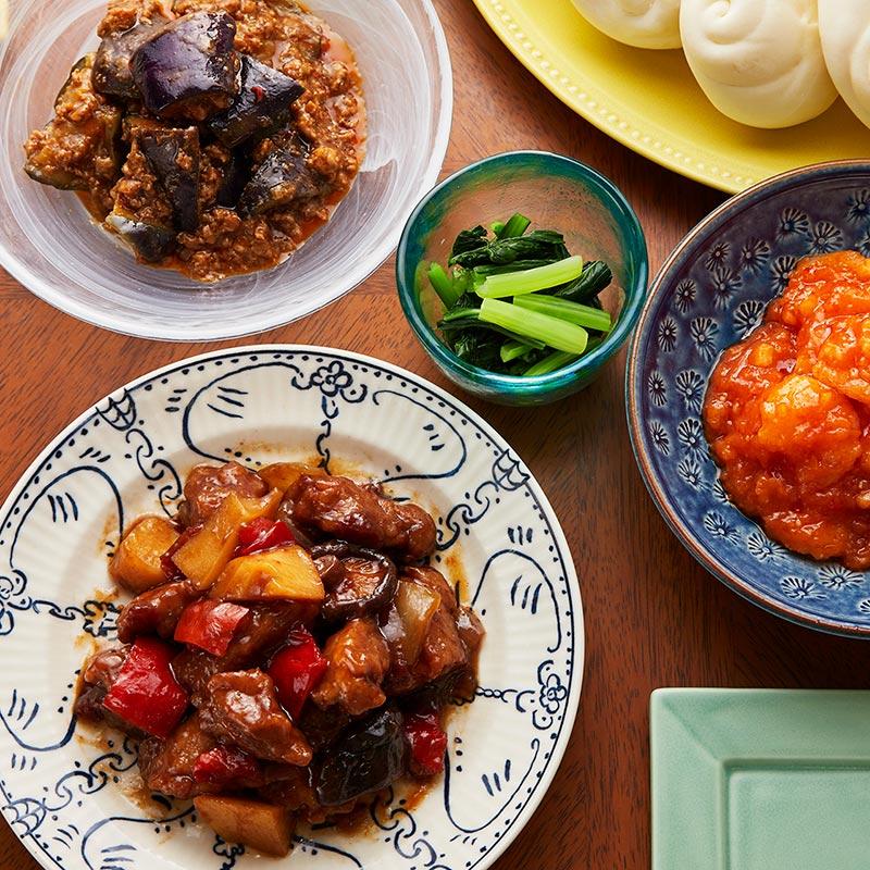おうちで味わう中華街シリーズ~黒酢酢豚