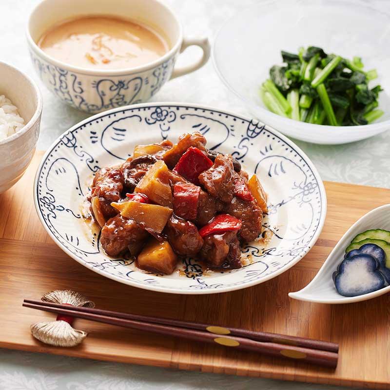 おうちで味わう中華街シリーズ~黒豚酢豚