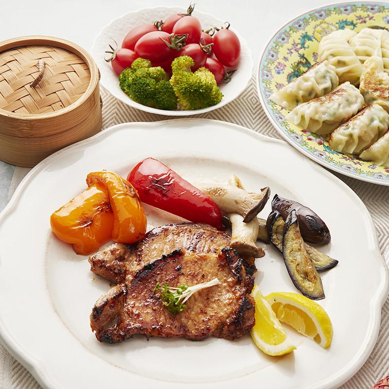 H::ブタまん+中華風豚肉味噌漬け(簡易包装)