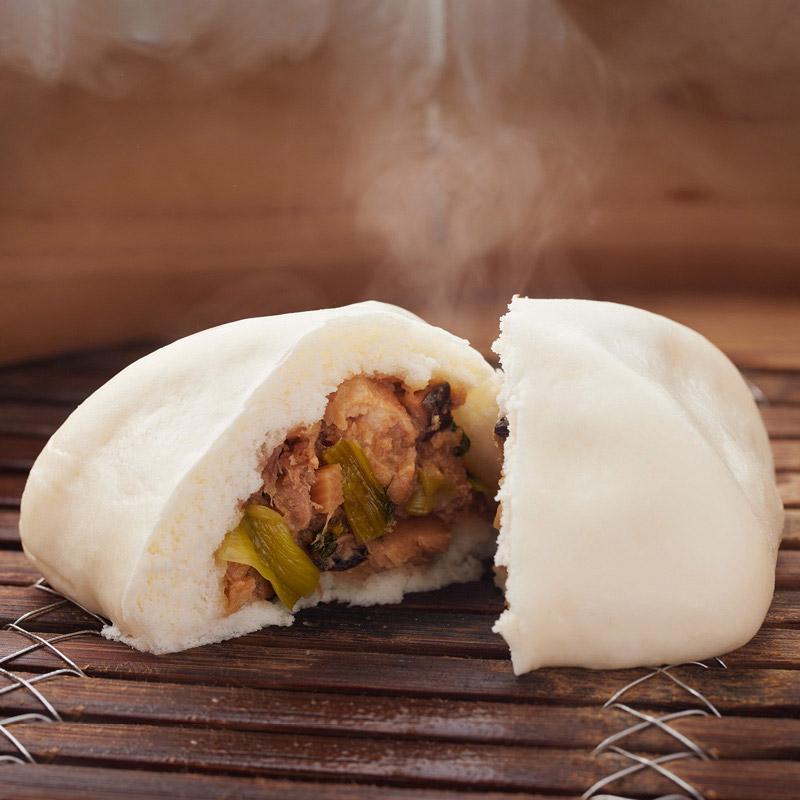 豚角煮まん 秘伝のタレで煮た角煮が楽しめるお饅頭